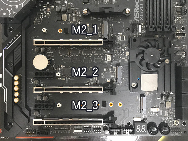 X570 Taichi M.2 配置
