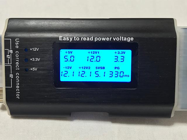 RM850x 電圧