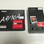 RX570 MSI SAPPHIRE パッケージ