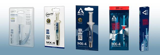 MX-4 パッケージ