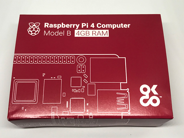 Raspberry Pi 4 外箱
