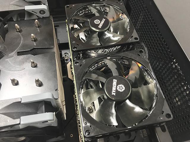 X570冷却用 強制空冷
