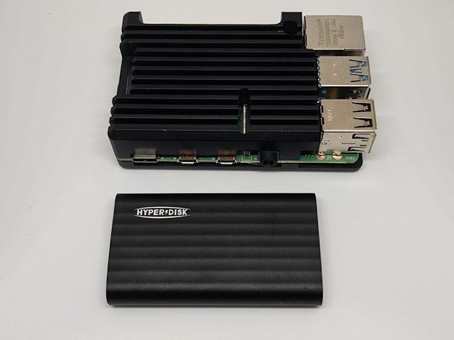 HyperDisk Raspberry Piとの比較