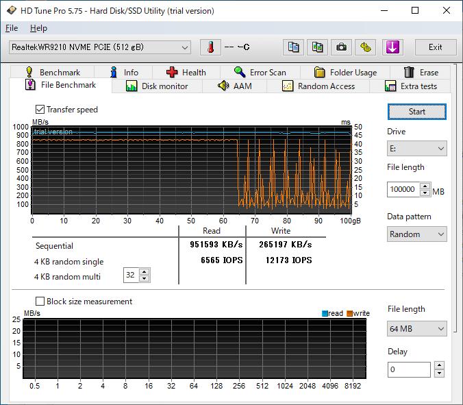 HyperDisk SLCキャッシュ