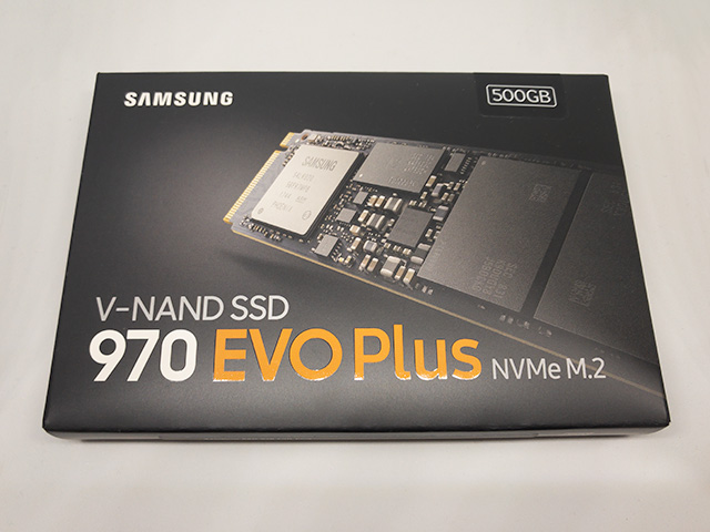 970 EVO Plus 箱